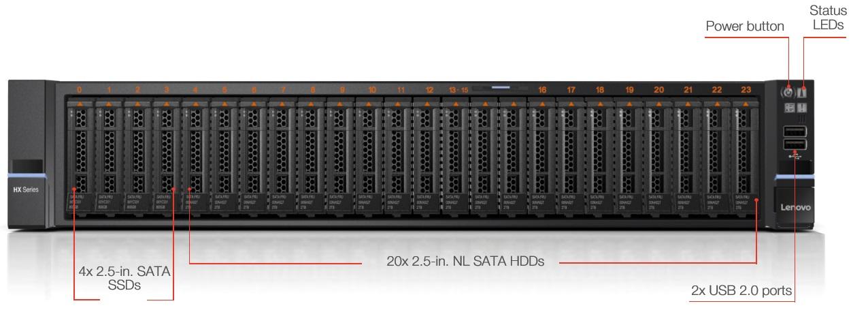 Lenovo hx7510 front