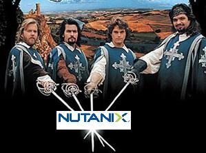 Nutanix mousquetaires