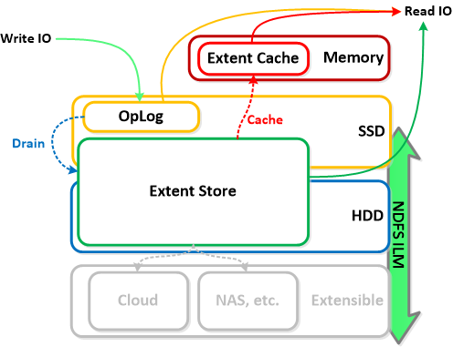 Nx extent cache