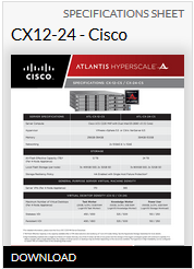 Specsheet cx12 24 cisco